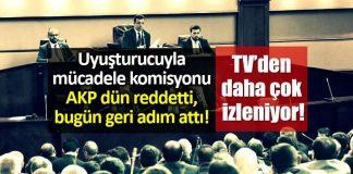 İBB meclisi uyuşturucuyla mücadele komisyonu: AKP dün reddetti, bugün geri adım attı!