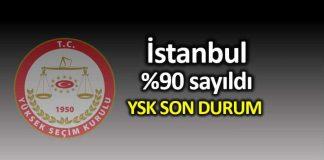 İstanbul geçersiz oyların yüzde 90 sayıldı: İşte son durum!