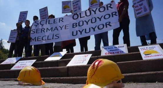 işçiler ölüyor, sermaye büyüyor, meclis uyuyor