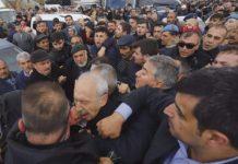 kemal kılıçdaroğlu'na saldırı yumruk atıldı