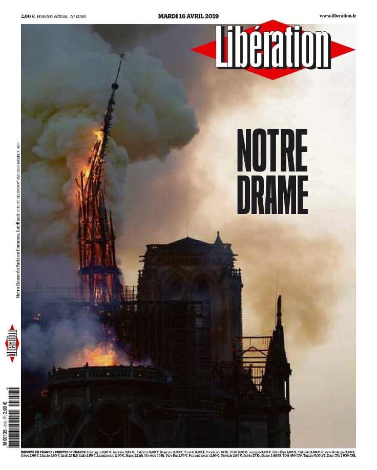 liberation notre dame cover