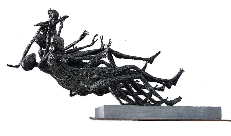 bir varlık bir yokluk heykel sergisi galeri selvin