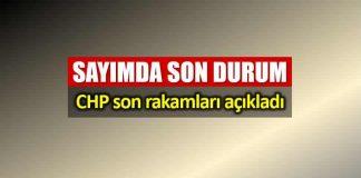Sayımda son durum: CHP İstanbul son rakamları paylaştı!
