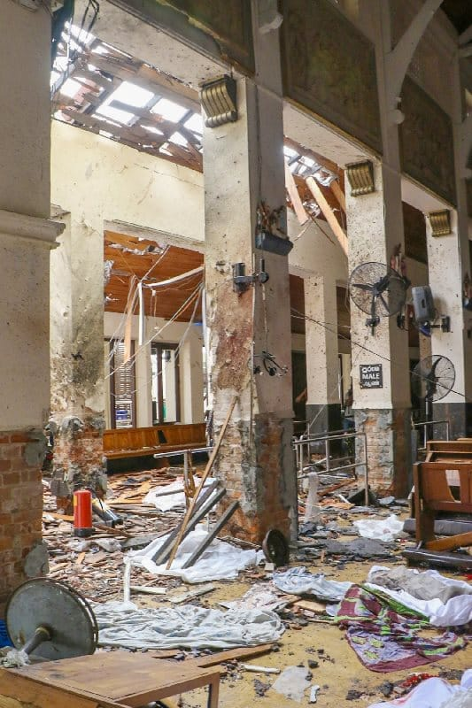 sri lanka terör bombalı saldırı colombo