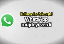 WhatsApp grup davetiyesi ve parmak izi ile giriş özelliği