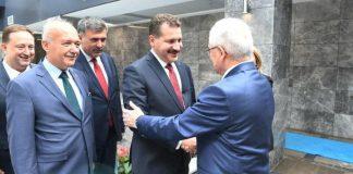 AK Parti Balıkesir heyetinden YSK Başkanı Sadi Güven e ziyaret