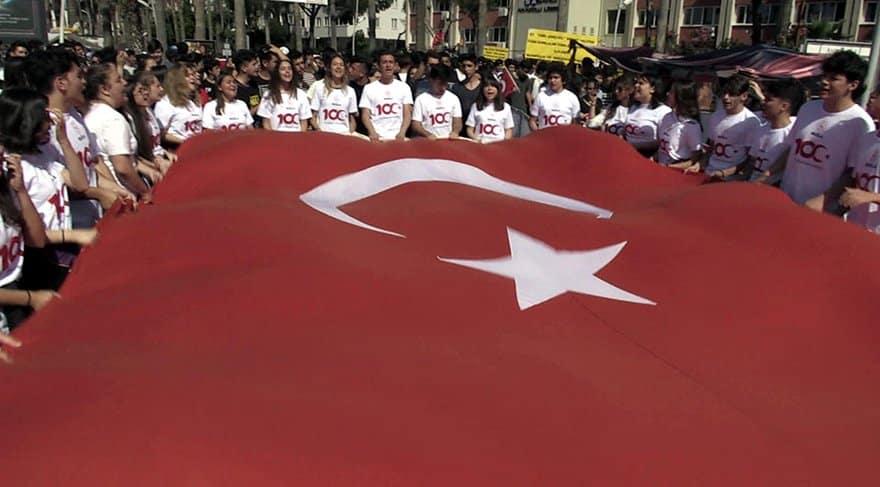 marmaris izmir marşı gerginliği 19 mayıs 2019 100. yıl kutlamaları