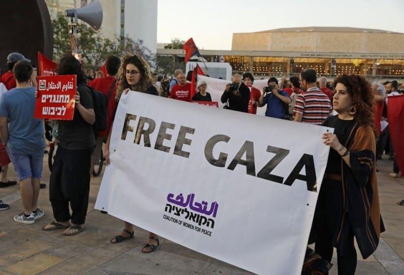 free gaza euro vision boycott