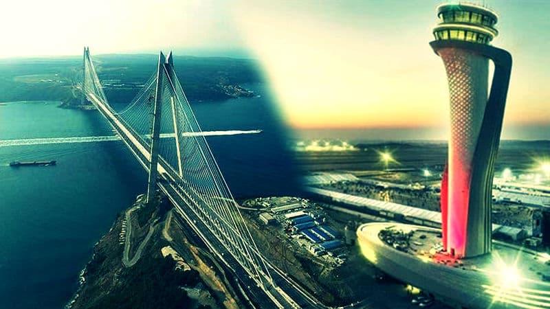 Üçüncü Köprü ve Yeni Havalimanı için satış görüşmeleri yapılıyor!
