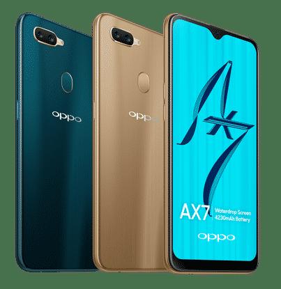 Oppo AX7 fiyatı