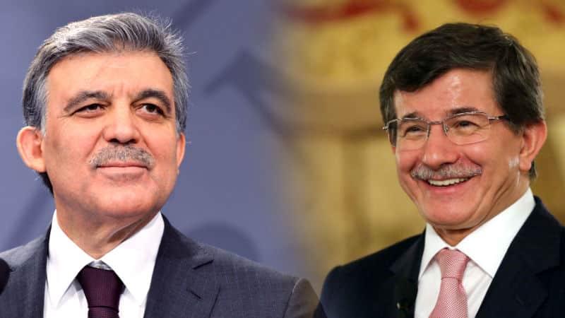 yeni parti kulis Abdullah Gül ile Ahmet Davutoğlu arasındaki diyalog ortaya çıktı!