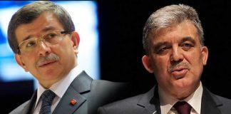 Abdullah Gül ve Ahmet Davutoğlu YSK tepki