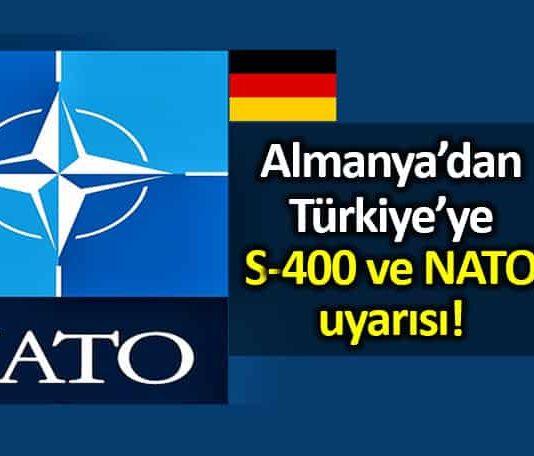 Almanya: Türkiye nin S-400 alma kararı NATO için zorluk yaratıyor