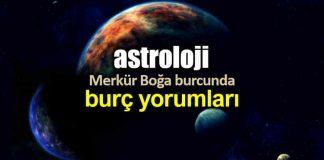 Astroloji: Merkür Boğa burcunda 6 mayıs 21 mayısburç yorumları