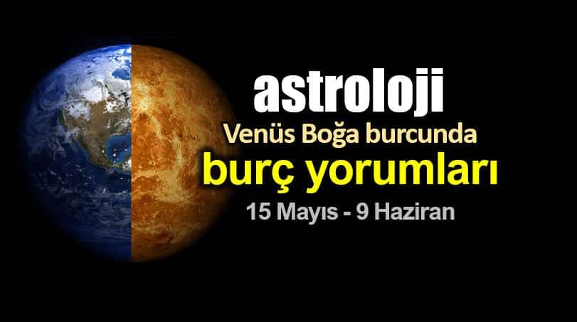 Astroloji: Venüs Boğa burcunda (15 Mayıs - 9 Haziran) burç yorumları