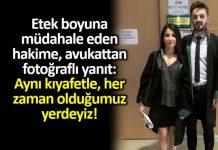 Avukat Tuğçe Çetin: Aynı kıyafetle, her zaman olduğumuz yerdeyiz!