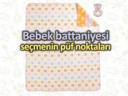 Bebekler için doğru battaniyeyi seçmenin püf noktaları