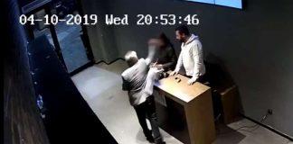 Beşiktaş eğlence mekanında şiddet görüntüleri ortaya çıktı!