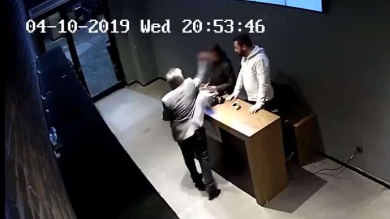 Dorock XL Beşiktaş Meydan mal sahibinin şiddet görüntüleri ortaya çıktı!