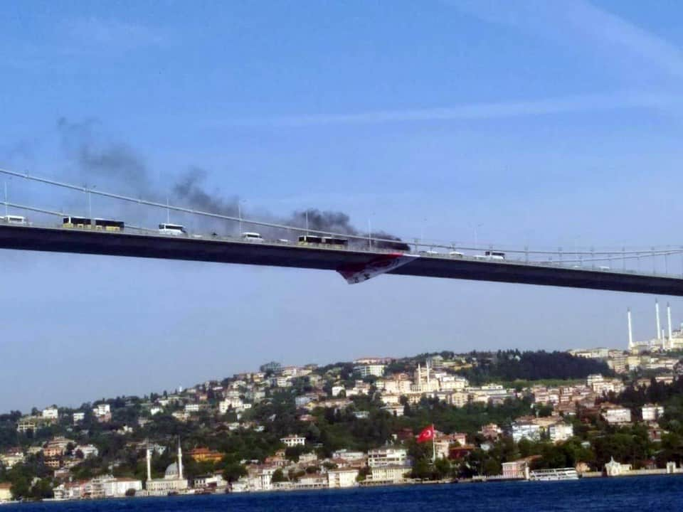boğaziçi köprüsü yangın