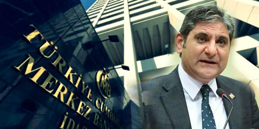CHP Aykut Erdoğdu: Merkez Bankası nın kendine ait rezervi yok!