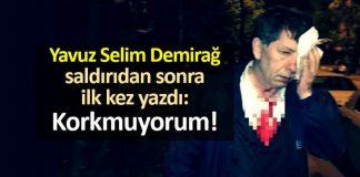 CHP Yavuz Selim Demirağ saldırı hakkında araştırma önergesi!
