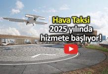 Hava taksi air taxi lilium jet