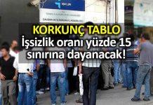 TOBB SPM raporu İşsizlik yüzde 15 sınırına dayanacak; işsiz sayısı 4 milyonu geçebilir!