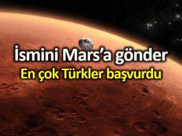 NASA 2020 Mars projesine en çok Türkler başvurdu!