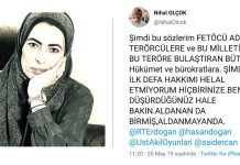 Nihal Olçok AKP ye sert eleştiri: Erdoğan da etiketledi!