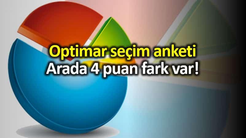 Optimar 23 Haziran İstanbul seçim anketi: 4 puan fark var!