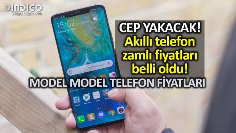 ÖTV zammı ile birlikte yeni akıllı telefon fiyatları (güncel)