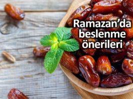 Ramazan ayında beslenme: Sahur ve iftar için öneriler