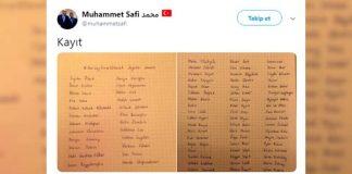 Saray ın arşiv daire başkanından, ekrem İmamoğlu na destek veren ünlüler için fişleme listesi