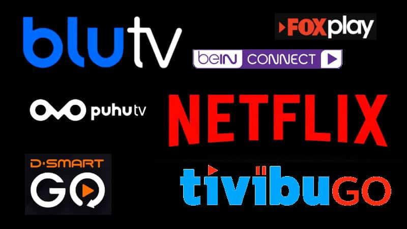 Türkiye ücretli ve ücretsiz online dizi izleme platformları