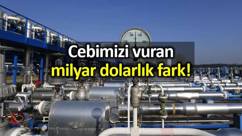 Türkiye nin Rus gazını Almanya'dan daha pahalıya aldığı ortaya çıktı!