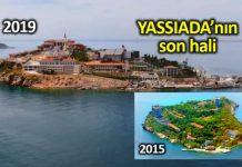 Yassıada son hali: Boş adaya 1200 kişilik cami yapıldı