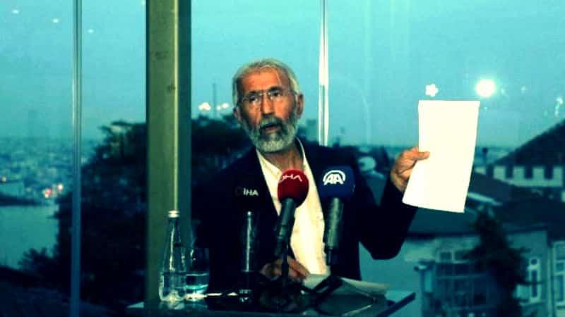 Terörist başının mektubunu açıklayan Ali Kemal Özcan dan skandal sözler: Öcalan yerli ve milli bir şahsiyettir