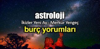 Astroloji: İkizler Yeni Ay ve Merkür Yengeç burç yorumları
