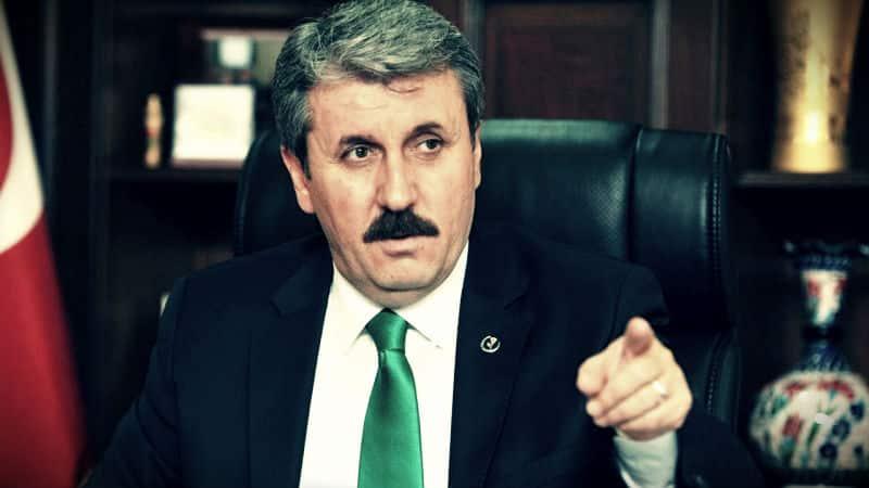 bbp lideri mustafa destici: Öcalan üzerinden PKK nın ya da HDP üzerinden Öcalan ın meşrulaştırılmasını kabul etmiyoruz