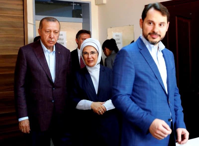 berat albayrak erdoğan ailesi