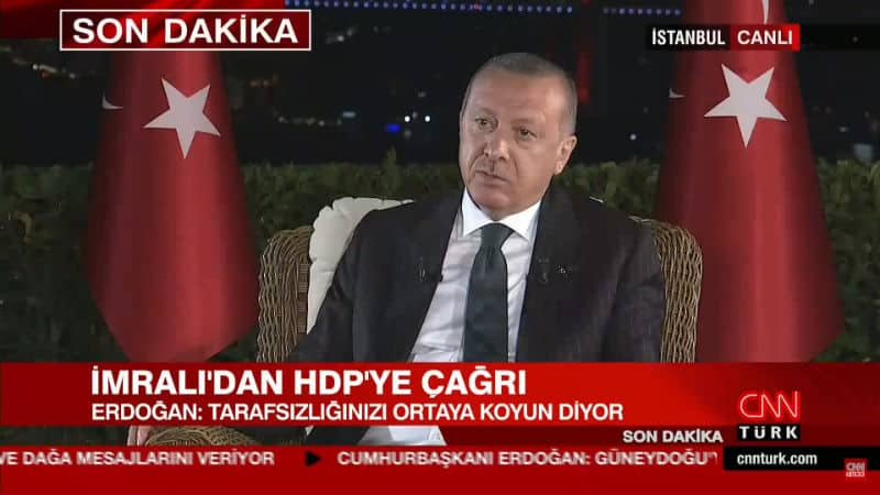 Erdoğan dan Öcalan açıklaması