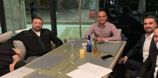 Firari Galip Öztürk, Erdoğan ın başdanışmanı hidayet türkoğlu ile aynı masada!
