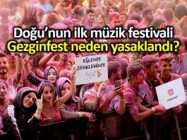 Gezginfest neden yasaklandı? Sanatçılar tepki gösterdi!