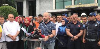 İBB çalışanları siyasete alet edildi ekrem imamoğlu aleyhinde protesto