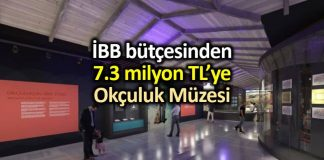 İBB bütçesinden 7.3 milyon TL Okçuluk Müzesi