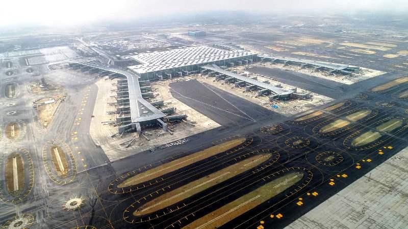 new istanbul airport passenger capacity ltfm