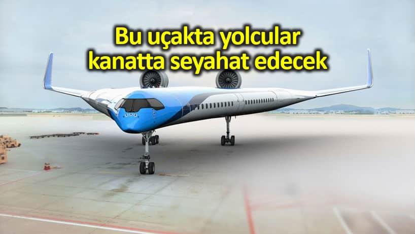 KLM Havayolları Flying-V uçak tasarımını fon sağlayacak