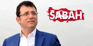 Sabah gazetesi: Ekrem İmamoğlu nun diploması şaibeli