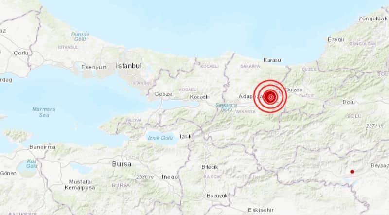 sakarya hendek deprem